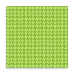 Houndstooth - green