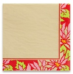 Luncheon Napkins - Poinsettia