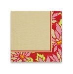 Beverage Napkins - Poinsettia