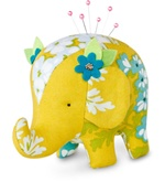Effie and Ollie Elephant Pincushion Kit Toy