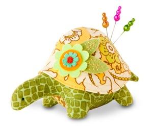 Turtle Pincushion Kit - Harriet
