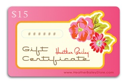 $15 Gift Certificate