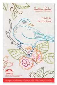Birds & Branches - embroidery pattern