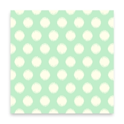 "Threaded Dot - aqua 55"" VOILE"