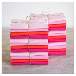 Solids Stack - Pinks & Red