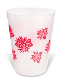 Reusable Party Cups - Poinsettia