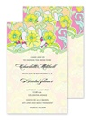 Invitations - Pineapple Brocade