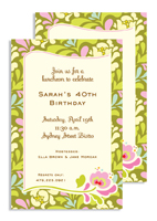 Invitations - Sway Lime