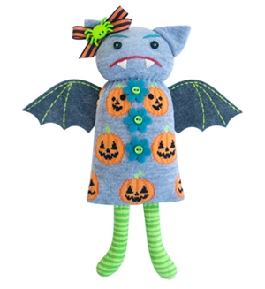 Betty Boo Sock Doll Kit - Pumpkin