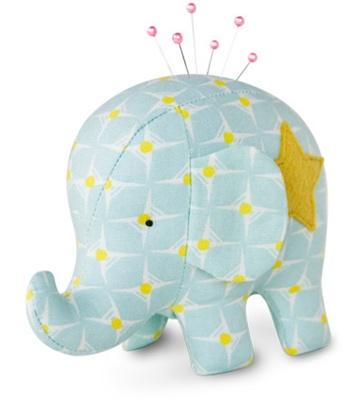 Effie Amp Ollie Elephant Pincushion Kit Ollie
