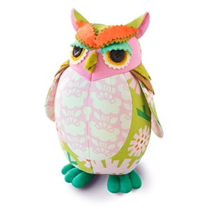 Owl Pincushion Kit - Edgar