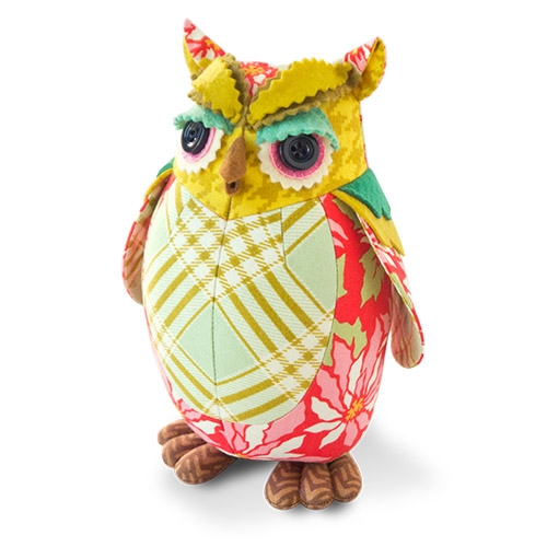Owl Pincushion Kit Nicholas