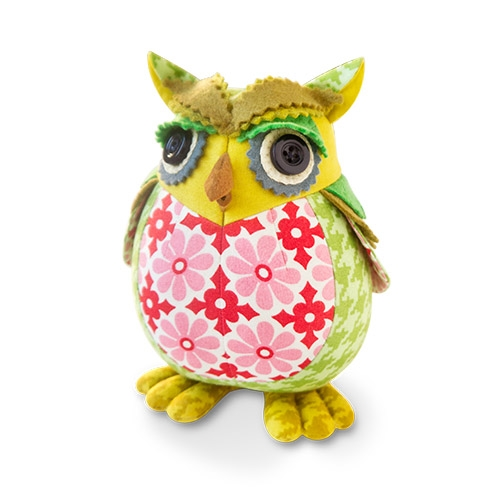 Owl Pincushion Kit - Rudy