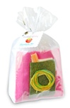 Strawberry Pincushion Kit - Bright Pink
