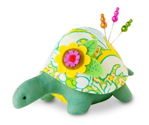 Turtle Pincushion Kit - Alice
