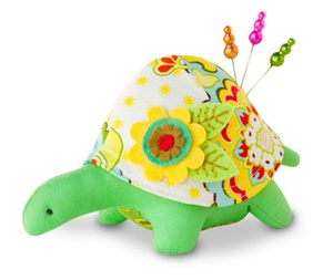 Turtle Pincushion Kit - Gladys