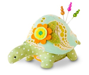 Turtle Pincushion Kit - Matilda