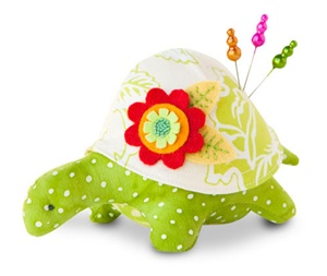 Turtle Pincushion Kit - Maude