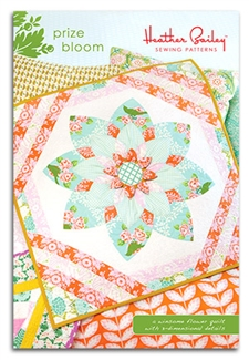 Prize Bloom Quilt Sewing Pattern