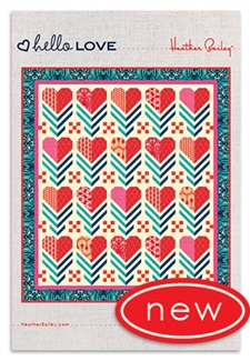 Hello LOVE Quilt Pattern